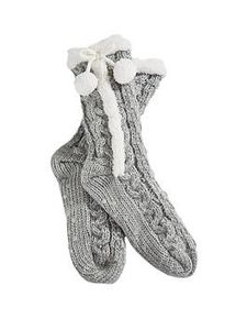 Love Home Fleece Lined Booties