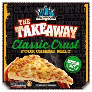 Chicago Town the Takeaway Classic Crust Four Cheese Melt 340g