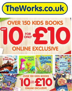 BARGAIN or WHAT?!! Any 10 Kids Books for Only £10! ONLINE EXCLUSIVE