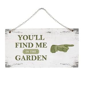 My Botanical Garden Wooden Hanging Signs