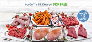 Buy 2.5kg Chicken Breasts for £19 + Get a Free Meat Hamper!!