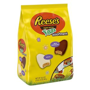 HUGE 1KG BAG! Reeses Easter Peanut Butter Eggs Assortment 952g