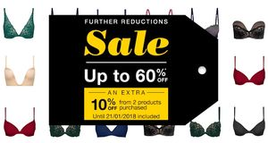 Wonderbra up to 60% off Sale