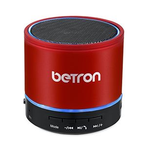 Wireless Portable Travel Bluetooth Speaker Red
