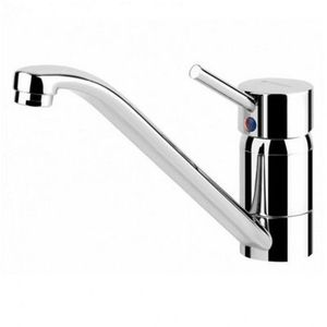 Hotpoint MC5TH | Monobloc Chrome Hot & Cold Mixer Tap with Overhead Lever