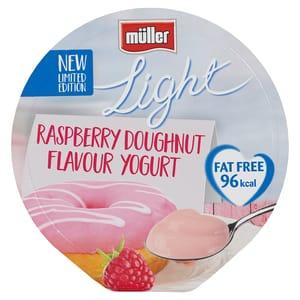 Muller Light Raspberry Doughnut 12 for £3