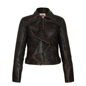 80% off Lee Cooper Vintage PU Jacket Ladies
