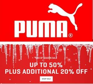 Puma Sale EVEN MORE OFF NOW!