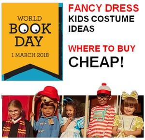 When is World Book Day 2018? BEST Fancy Dress Costume Ideas. BEST BUY LINKS!