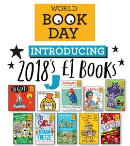 What Are the 2018 World Book Day £1 Books? and Their Amazon Links