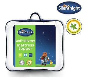 Code Stack on Single Silentnight Anti Allergy Mattress Topper!