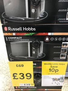 Russell Hobbs Microwave - Instore Liverpool Tesco