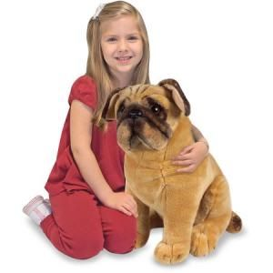£10 Melissa & Doug Pug Dog Plush Toy at Amazon
