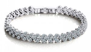 Stunning Sapphire 7ct Bracelet for Only £16 Delivered!