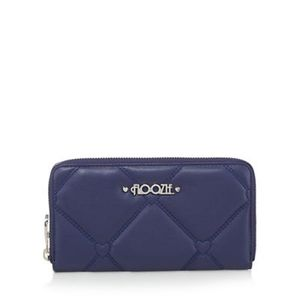 Floozie by Frost French - Navy Heart Quilted Large Purse *HALF PRICE*
