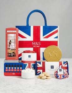 Save £18 on the Taste of Britain Gift Bag at Mark's & Spencer