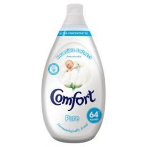 Comfort Fabric Conditioner Pure 64 Wash