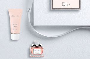 FREE Dior Gift Incl. EDP and Body Lotion (With Purchase)