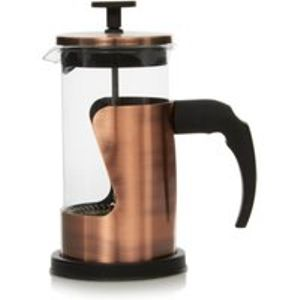 Copper Effect Cafetiere Free C&C