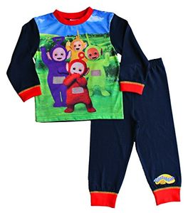 Boys Teletubbies Tinky-Winky, Dipsy, Laa Laa and PO Pyjamas 12 Months to 3 Years