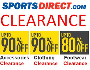 SPORTS DIRECT CLEARANCE MEGA DISCOUNTS - Clothing, Footwear & Accessories