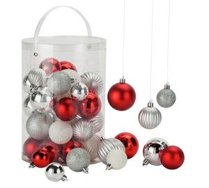 HOME 50 Piece Bauble Pack at Argos