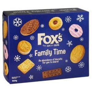 Fox's Family Time Biscuit Assortment 660g