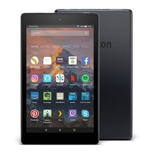 "Amazon Fire HD 8 Tablet with Alexa, 8"" HD Display, 16 GB, Black"