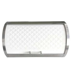 Elements White Bread Bin