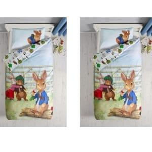 £22 Peter Rabbit Toddler Bed Set at Next