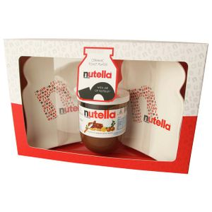 2x Nutella Toast Plates & 200g Nutella Jar Set - save 80%