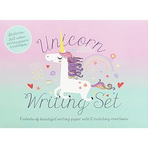Unicorn Writing Set