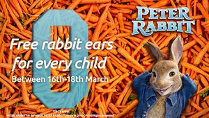 Free Rabbit Ears to Every Child at Odeon