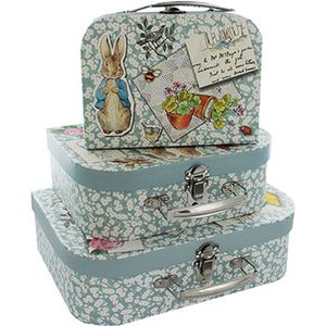 Peter Rabbit Storage Suitcases - Set of 3 - £5.60 or 2 Sets for £10