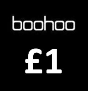 Boohoo Flash Sale £1! £2!