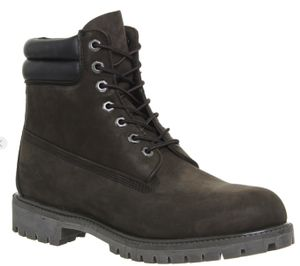 Timberland 6 Inch Double Collar Boots Medium Brown