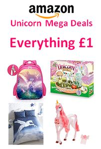 Unicorns Mega Deal at Amazon – Everything £1 on April 1st