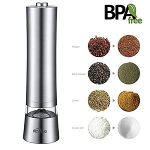 80% off Code for  Electric Stainless Steel Pepper Mill