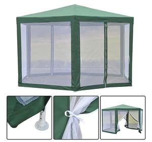 Garden Hexagonal Gazebo Outdoor Canopy Patio Party Tent Market Marquee