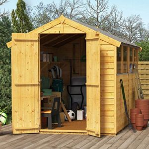 Summer's Coming! Get a Shed! BillyOh 8x6 Windowed Wooden Shed