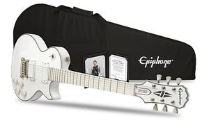 "Win an Epiphone Ltd. Ed. Matt Heafy ""SnØfall"" Les Paul Guitar with Epiphone"