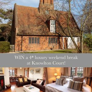 WIN a 4* LUXURY Weekend at Knowlton Court for 8!