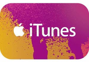 Win £100 iTunes Gift Card