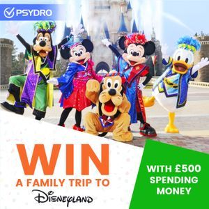 Win a Family Trip to Disneyland Paris with £500 Spending Money