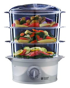 Win an Amazing Russell Hobbs 3 Tier Steamer