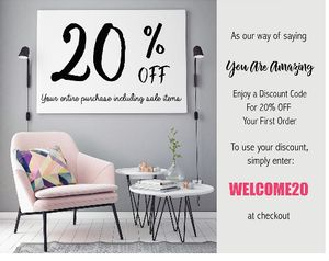 20% off Your Entire Purchase Inc. Sale Items
