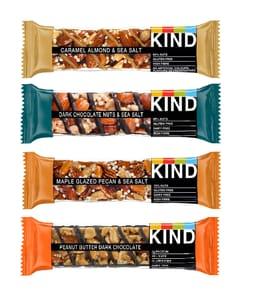 Win 1 of 3 KIND Bar Bundles worth £38.67 Each