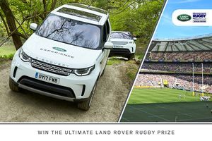 Win the Ultimate Land Rover Rugby Prize This Season