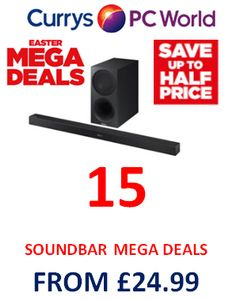 Want a SOUNDBAR? Get a MEGA DEAL!