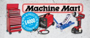 FIVE Lucky Winners Will Be Enjoy This £4000 Machine Mart Competition.